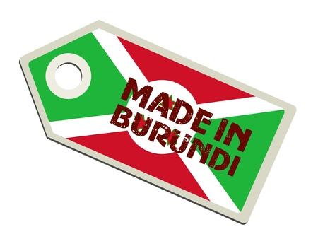 Made in Burundi Stock Vector - 11899704