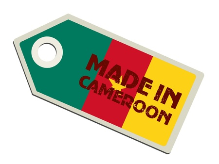 Made in Cameroon Stock Vector - 11899750