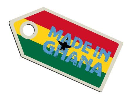 ghana: Fabriqu� au Ghana Illustration