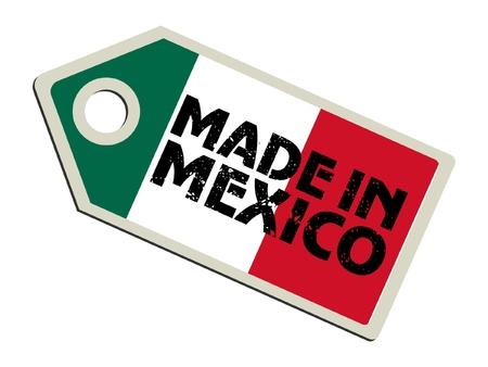 bandera mexico: Hecho en M�xico