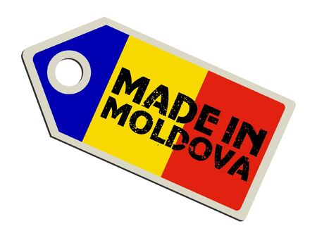 Made in Moldova Illustration