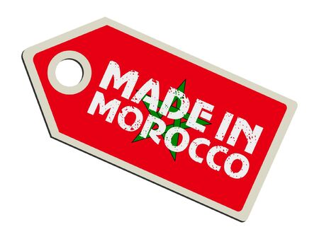 Made in Morocco Stock Vector - 11899732