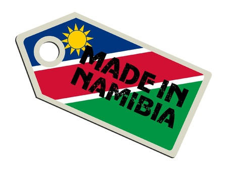 Made in Namibia Vector