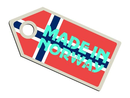 Made in Norway Vector