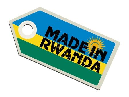 Made in Rwanda Vector