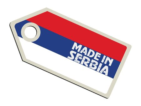serbia flag: Made in Serbia