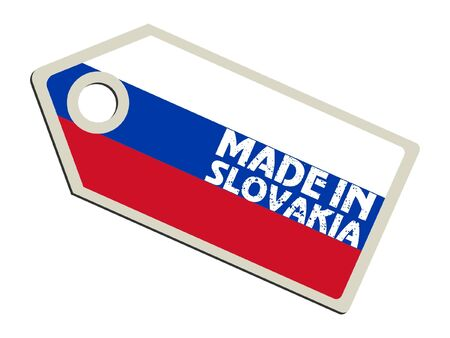 Made in Slovakia Vector