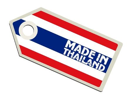 thai flag: Made in Thailand