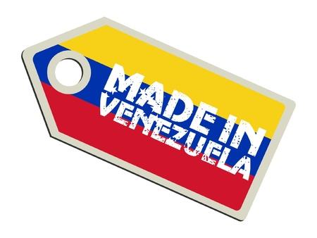 bandera de venezuela: Hecho en Venezuela