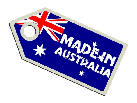 australia stamp: Made in Australia