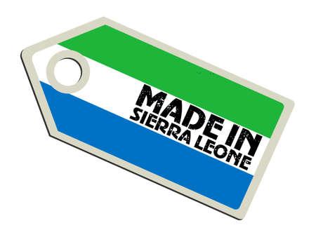 Made in Sierra Leone Stock Vector - 11899785