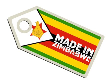 Made in Zimbabwe Vector