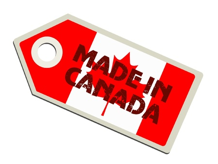 Made in Canada Stock Vector - 11899708