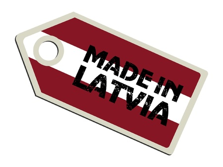 Made in Latvia Vector