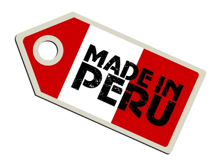 bandera peru: Hecho en el Per�