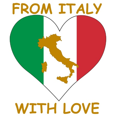 From Italy with love Vector