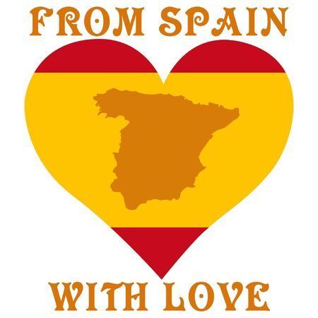 From Spain with love Vector