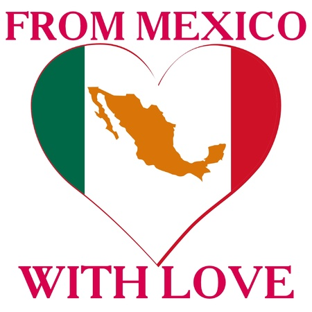 From Mexico with love Vector
