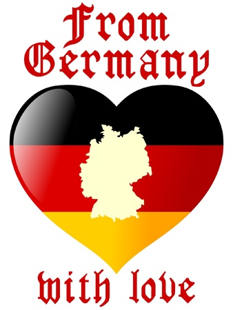 From Germany with love Stock Vector - 11898553