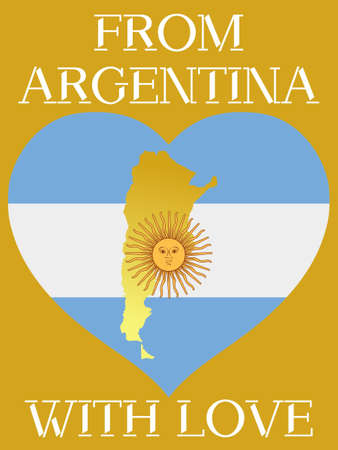 From Argentina with love Vector