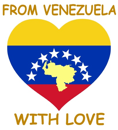 From Venezuela with love Vector