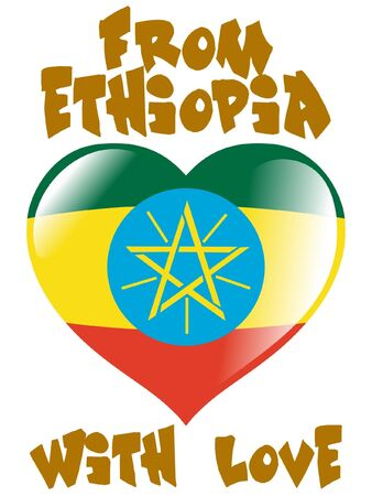 From Ethiopia with love Vector