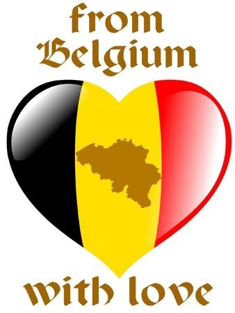 From Belgium with love Vector