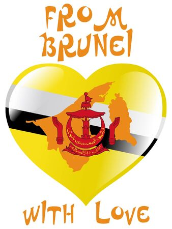 map of brunei: From Brunei with love
