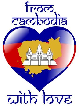 cambodia: From Cambodia with love Illustration