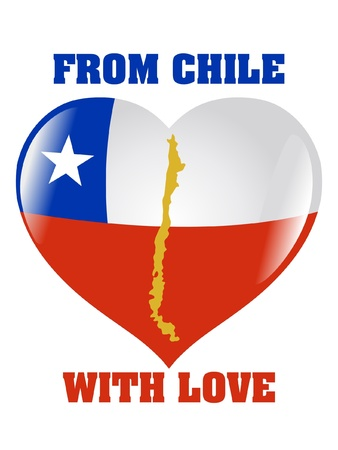From Chile with love Vector