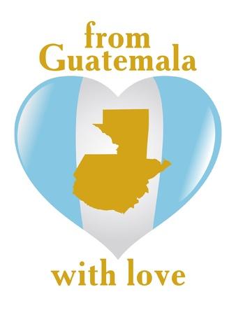 guatemala: From Guatemala with love Illustration
