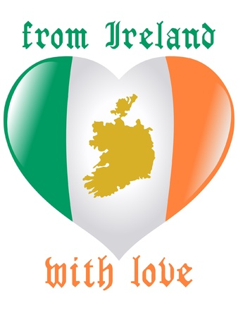 From Ireland with love Vector