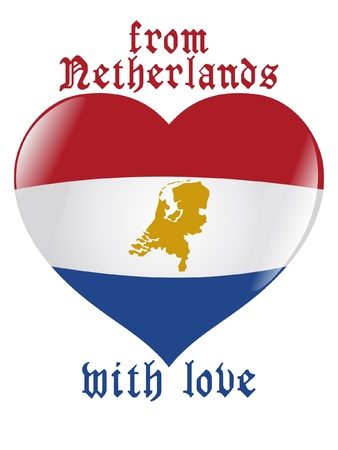 From Netherlands with love Vector