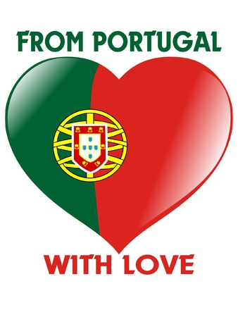 From Portugal with love Vector