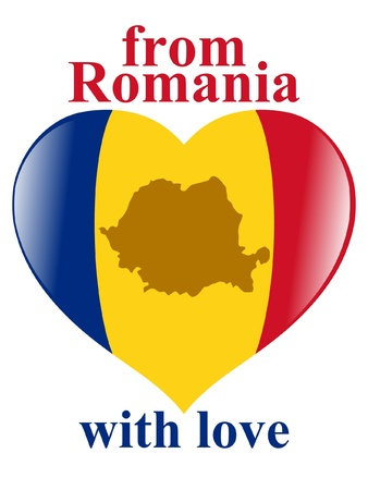 From Romania with love Vector