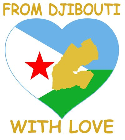 djibouti: From Djibouti with love Illustration