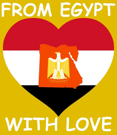 From Egypt with love Vector