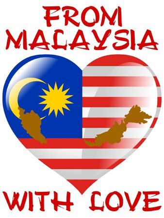 From Malaysia with love Vector