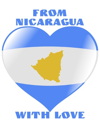 From Nicaragua with love Vector
