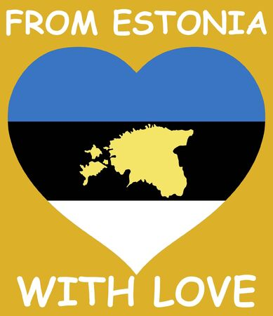 From Estonia with love Illustration