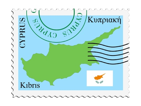 mail to/from Cyprus Stock Vector - 11898131