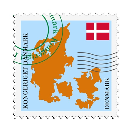 mail to/from Denmark Stock Vector - 11898126
