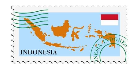 indonesien: Mail an  aus Indonesien