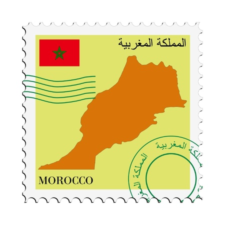 mail to/from Morocco Stock Vector - 11898135