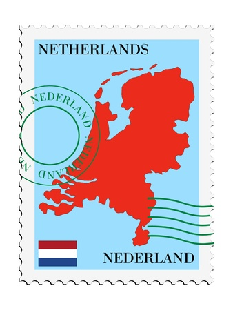 mail to/from Netherlands Stock Vector - 11898137