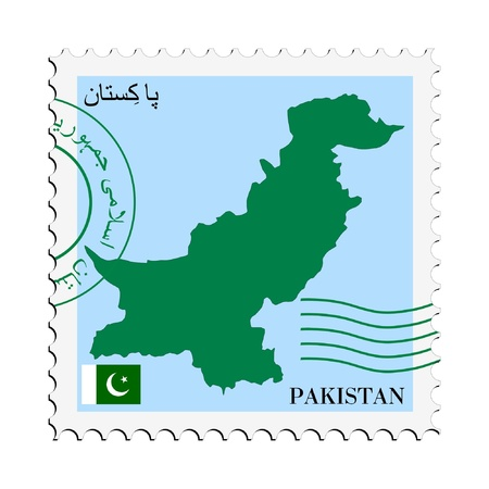 mail to/from Pakistan Stock Vector - 11899307