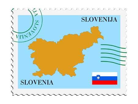 mail to/from Slovenia Stock Vector - 11899308