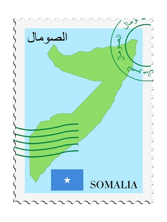mail to/from Somalia Stock Vector - 11899302