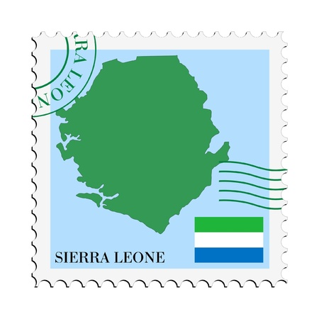 mail to/from Sierra Leone Stock Vector - 11899387