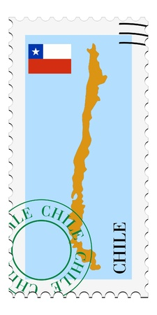 mail tofrom Chile Vector